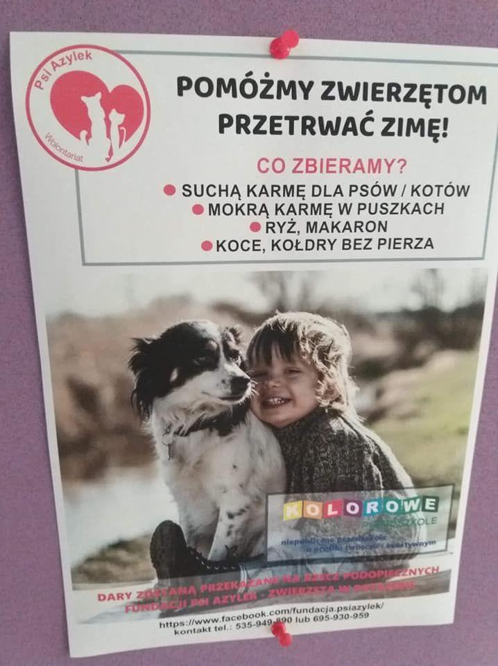 POMAGAMY ZWIERZĘTOM - Akcja na rzecz schroniska Psi Azylek w Zawadzie