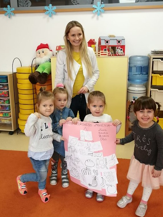 Warsztaty z Gabinetem Dietetycznym Bonne Santé - Piramida Żywienia Przedszkolaka
