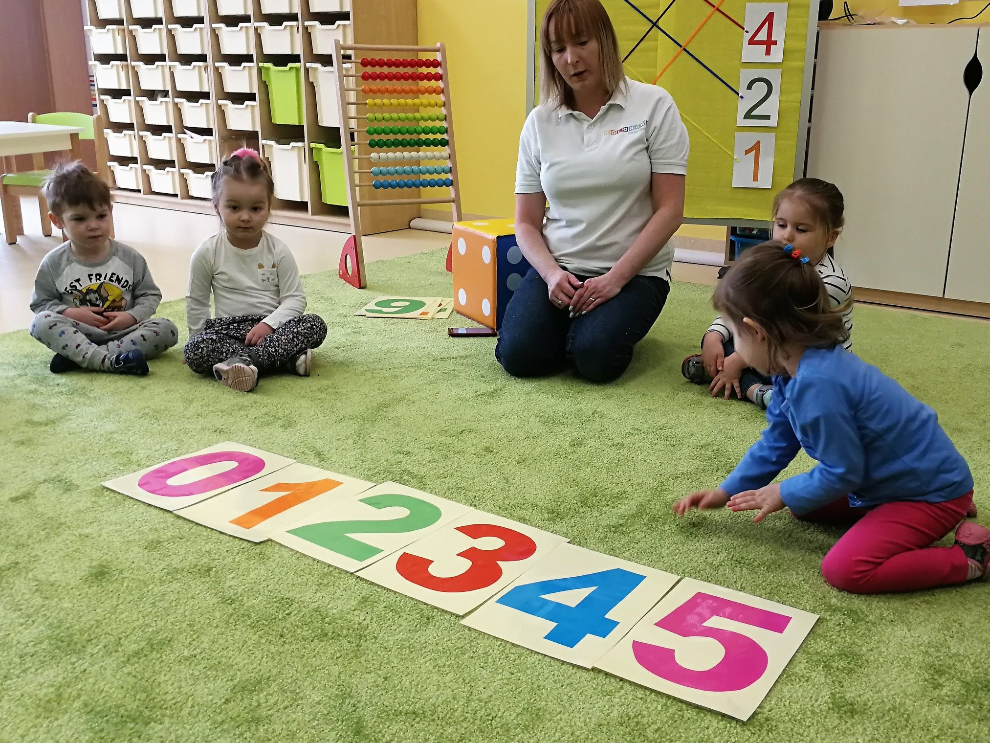 Dzień Matematyki w Kolorowym Przedszkolu