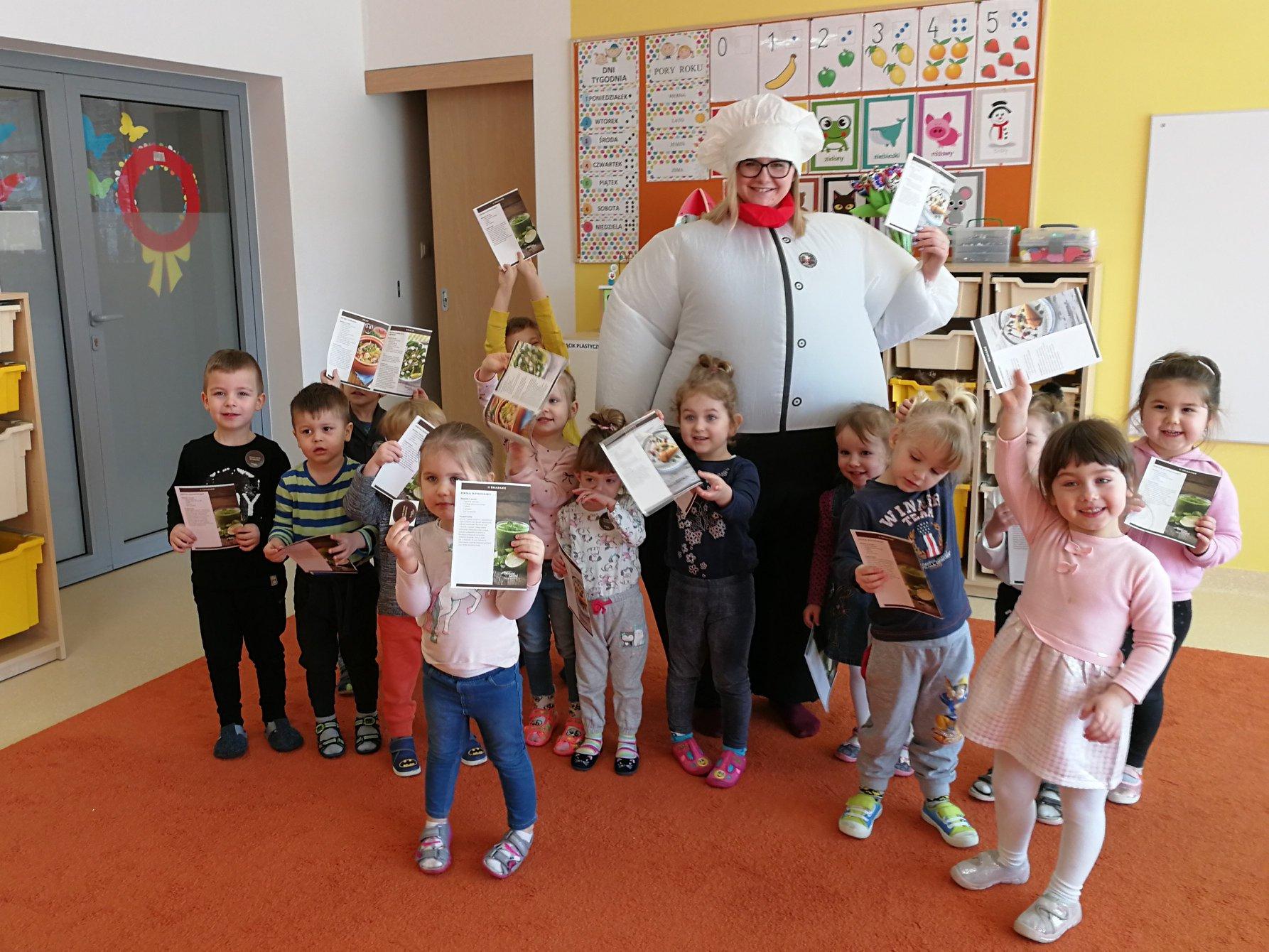 Zdrowy Przedszkolak - Współpraca z Gab. Dietetycznym Bonne Santé