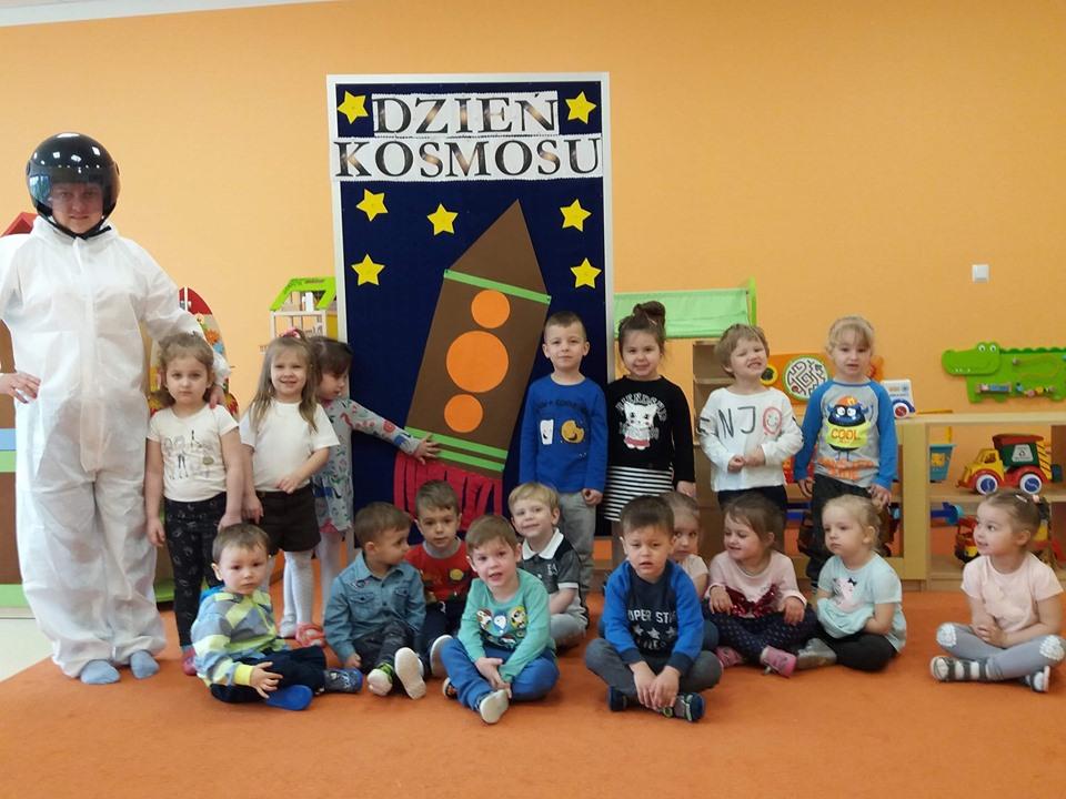 Dzień Kosmosu w Kolorowym Przedszkolu